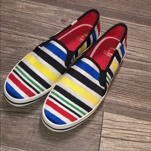 NWOT Keds For Kate Spade Rare Striped Shoes ♠️